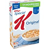 Kellogg's Special K Breakfast Cereal, Original, 18 Ounce Box (Pack of 3)