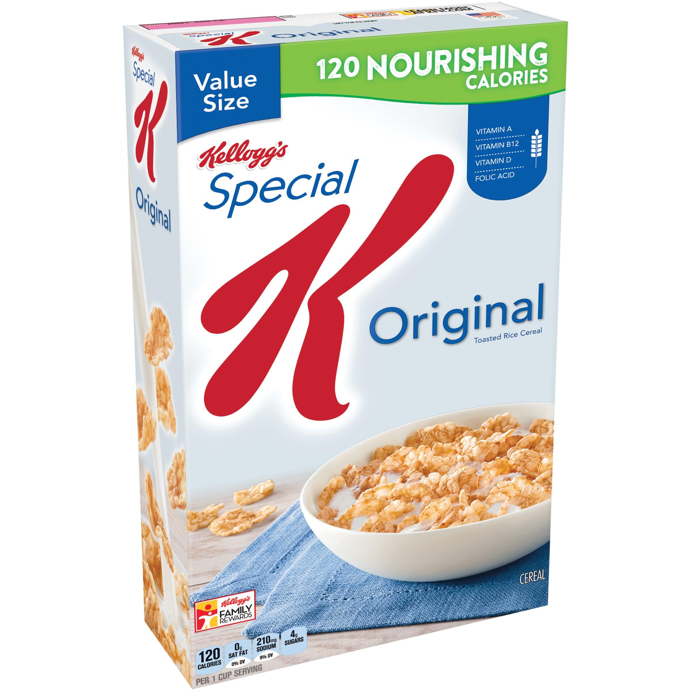Amazon.com: Kellogg's Corn Flakes Breakfast Cereal