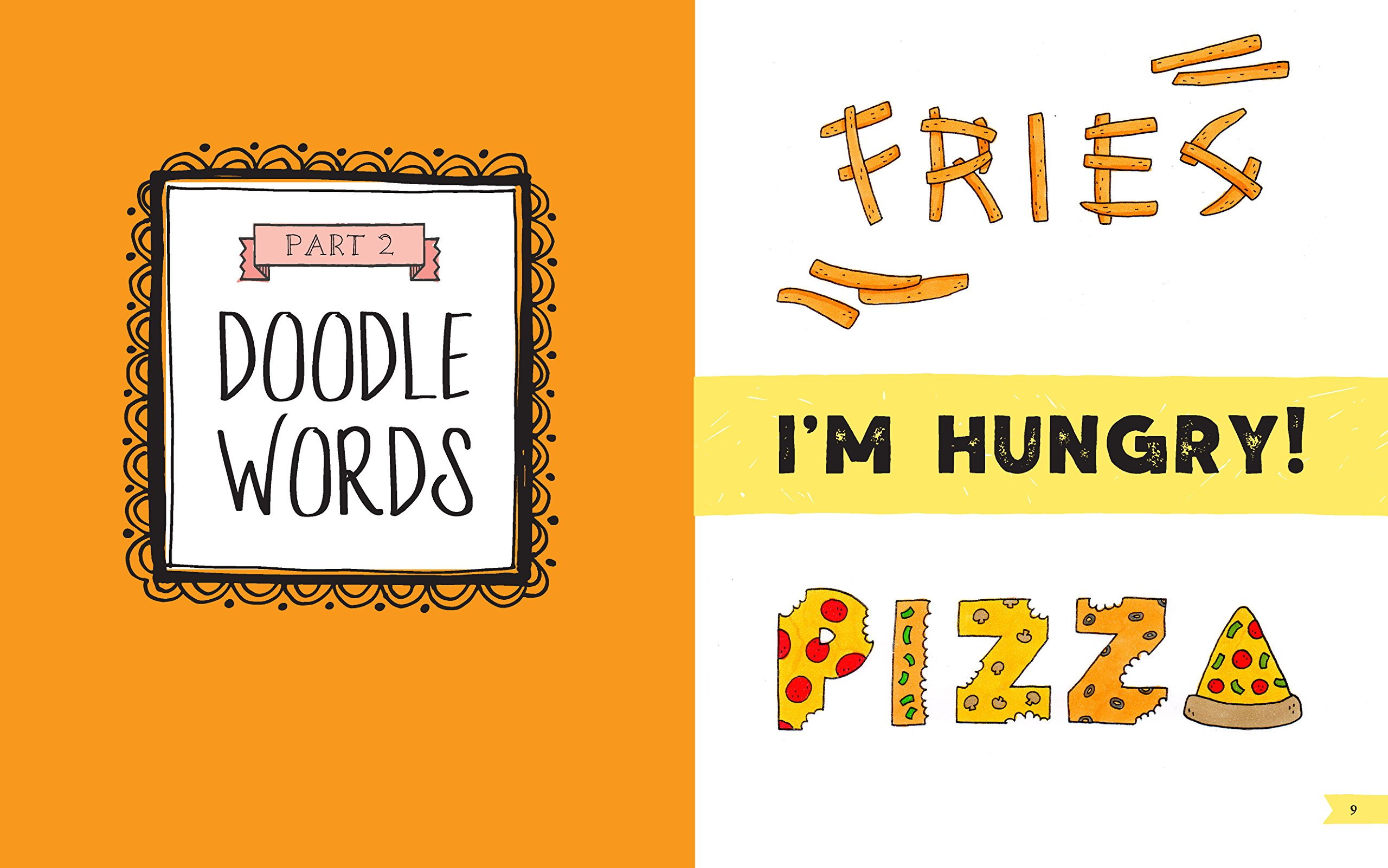 The Art of Doodle Words: Turn Your Everyday Doodles into Cute Hand Lettering !