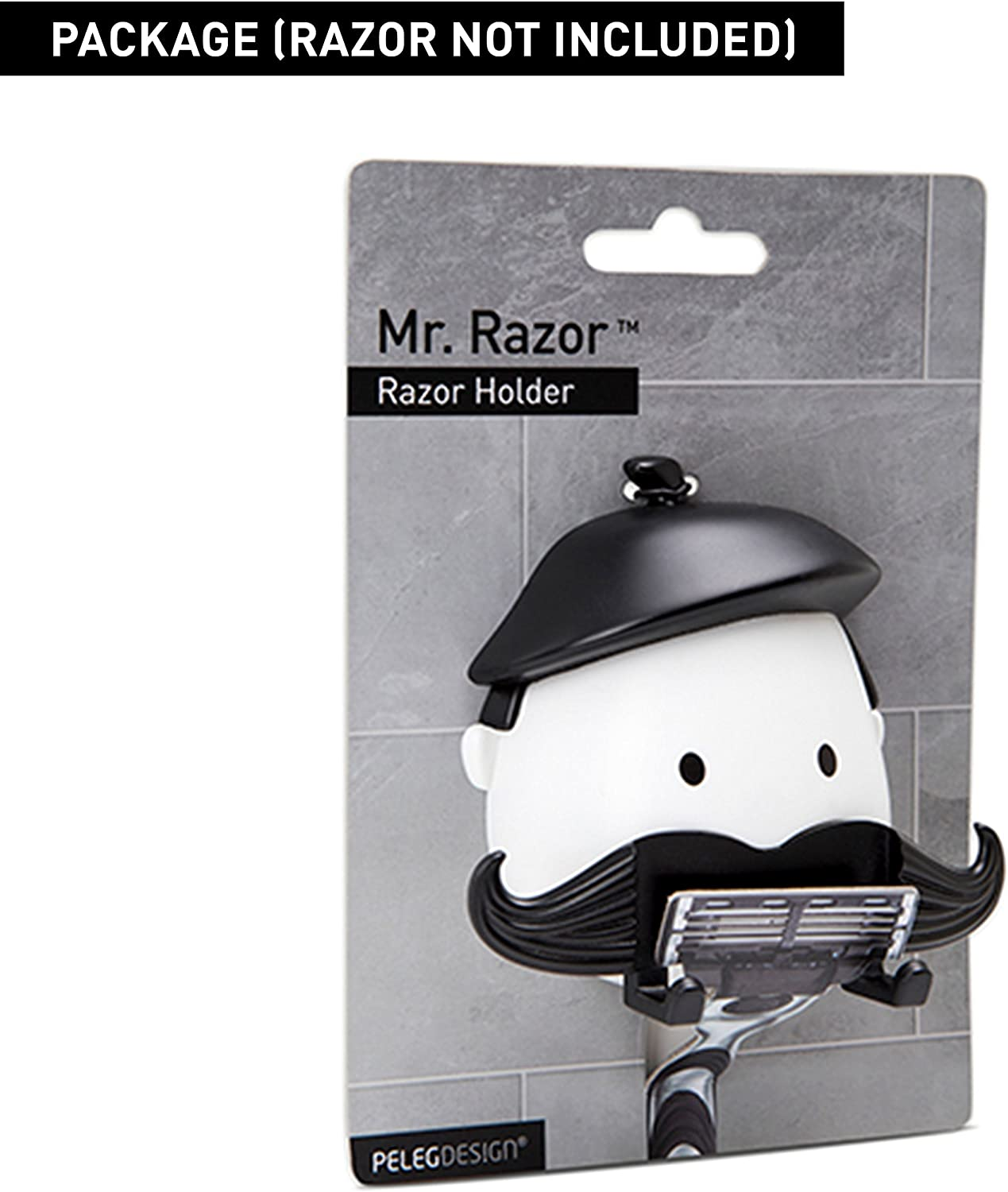 Plastic Hanger Hooks Suction Cup Durable High Quality Gray Shaver Holder Planer