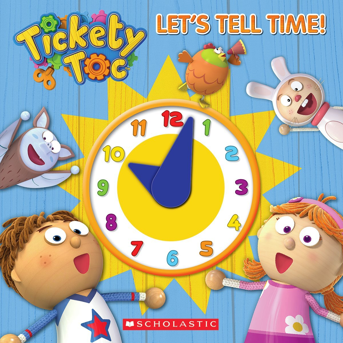 Read Online Tickety Toc: Let's Tell Time!: A Telling Time Book pdf epub