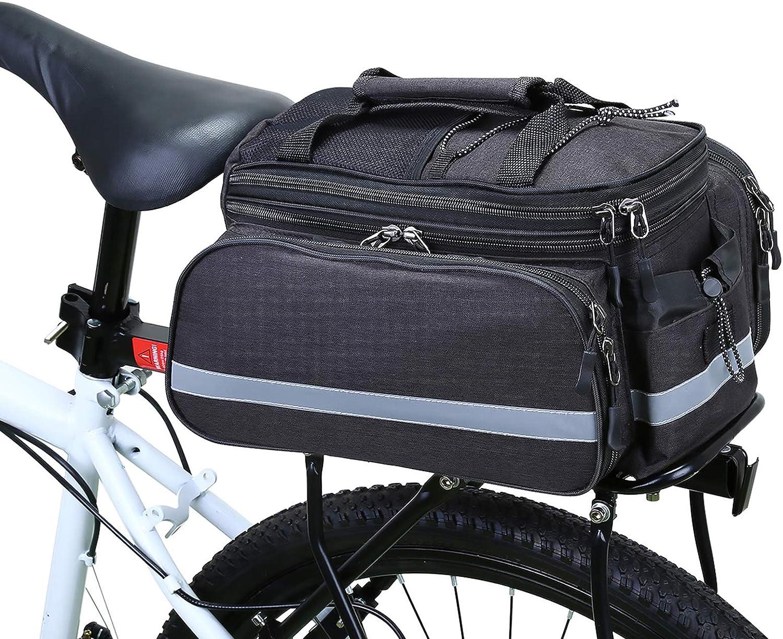SKS bicicleta Alforja bolso bolso bicicleta Racer Straps 0,8 litros negro