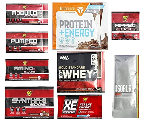FREE Optimum Nutrition Sample.