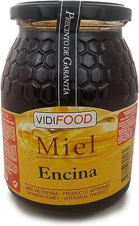 Miel de Encina - 1kg - Producida en España - Alta Calidad ...