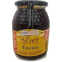 Miel de Encina - 1kg - Producida en España - Alta Calidad, tradicional & 100% pura - Aroma Floral y Sabor Rico y Dulce - Amplia variedad de Deliciosos Sabores