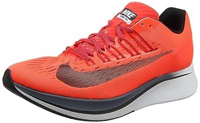new concept f5f18 26244 Nike Zoom Fly, Chaussures de Running Homme, Orange (Cramoisi Brillant Renard  Bleu
