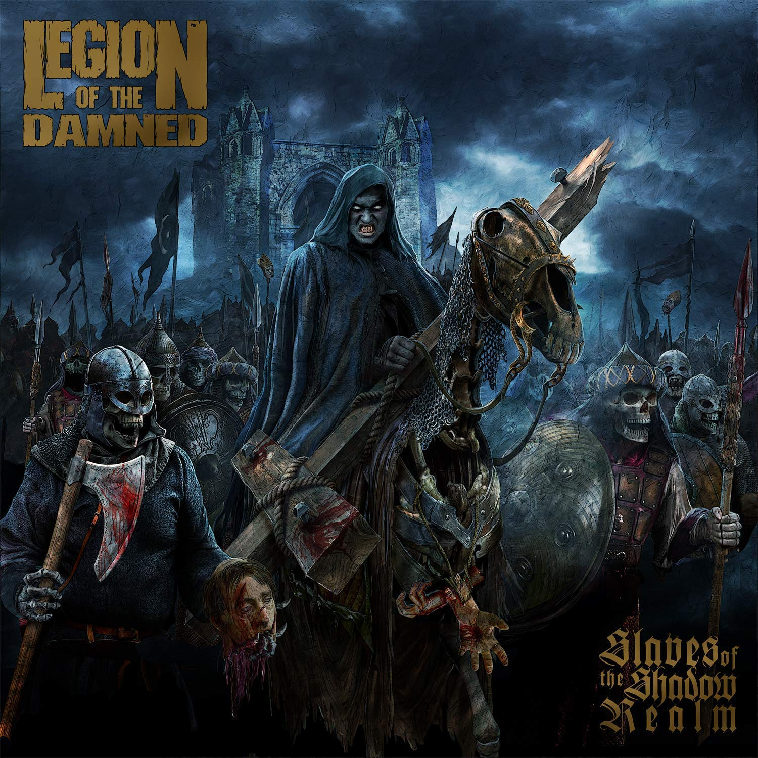 CD : Legion of the Damned - Slaves Of The Shadow Realm (With DVD)