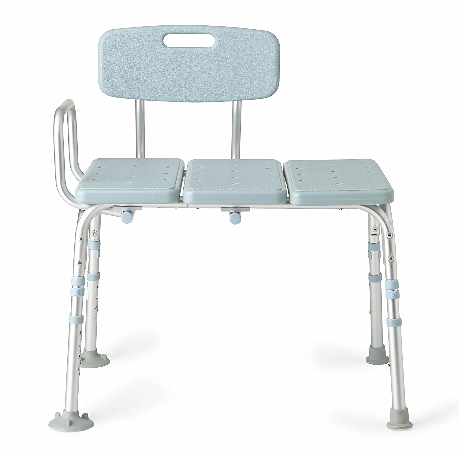 Amazon.com: Medline Microban Medical Transfer Bench with ...