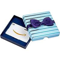 Amazon.de Geschenkkarte in Geschenkbox (Blaue Streifen) - mit kostenloser Lieferung per Post