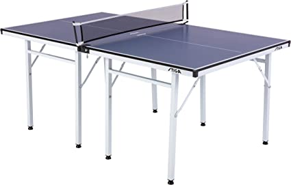 Stiga Space Saver Compact Table Tennis Table For Authentic Play At Regulation Height With A Scaled Down Size For Easy Storage Sports Outdoors