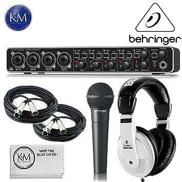 Amazon.com: Behringer U-PHORIA UMC - USB 2.0 paquete de ...