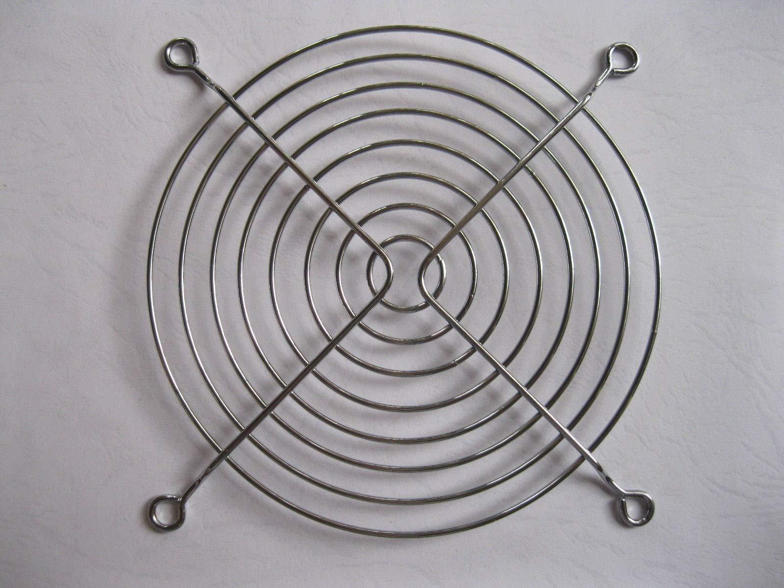 FidgetFidget 30 pcs DC Fan Grill Protector Silver Metal Finger Guard Used for 120mm Fan