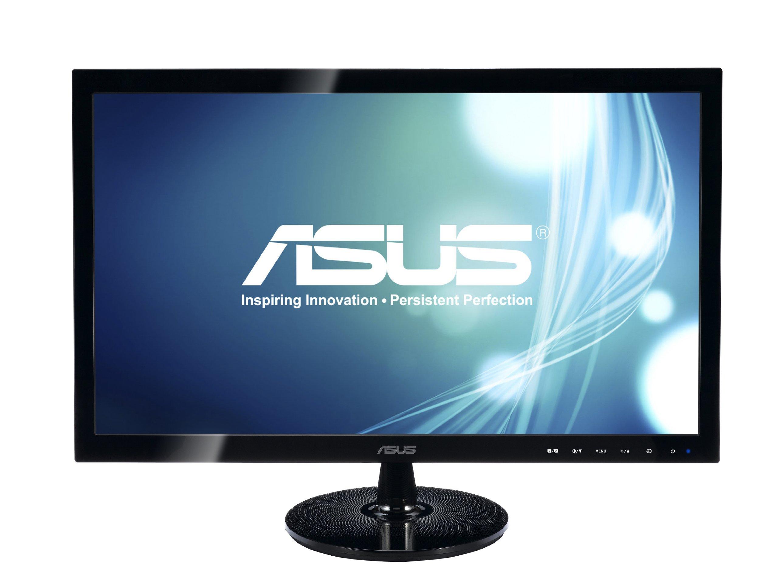 ASUS VS208N-P 20'' HD+ 1600x900 DVI VGA Back-lit LED Monitor