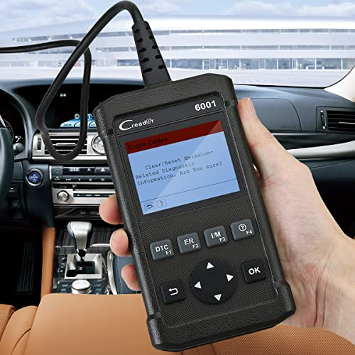This OBD II scanner has a simple design that makes reading and clearing trouble codes fast and easy.