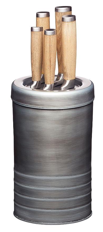 Kitchen Craft Messerblock Industrial Kitchen Mit 5 Messern
