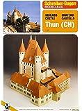 Schreiber-Bogen Thun Castle Card Model