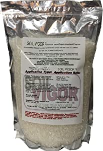 5 LBS of Granule Soil Vigor-new & Improved Potassium Based Formula with Anti Soil-clumping. Better Soil for Better Plants.