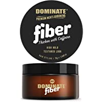 Dominate Men's Hair Styling Fiber with Caffeine, 75g