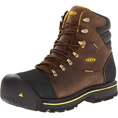 Keen Utility Milwaukee WP Dark Earth 13 EE - Wide | Industrial & Construction Boots
