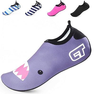 658d54b04f BETTERLINE - Zapatos de Agua para niñas y niños Zapatillas de Playa de  Secado rápido con