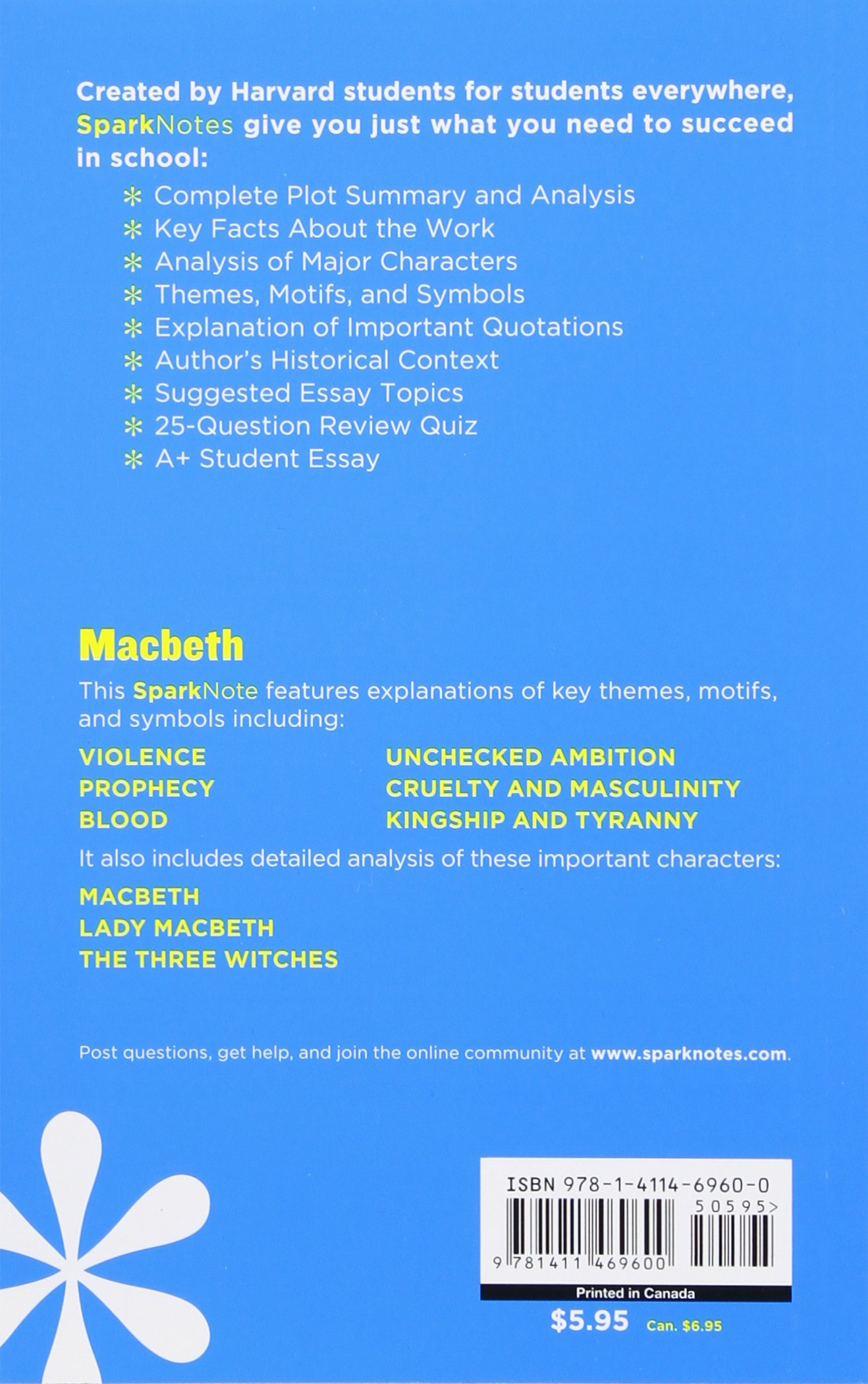 com macbeth sparknotes literature guide sparknotes com macbeth sparknotes literature guide sparknotes literature guide series 9781411469600 sparknotes william shakespeare books
