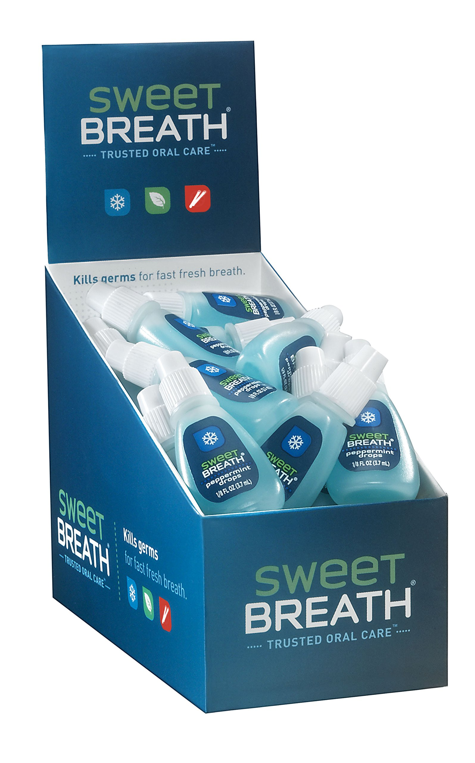 Sweet Breath Drops, Peppermint, 48 Count