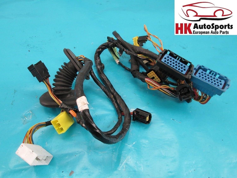 Amazon.com: Front Left Driver Side Door Wire Wiring Harness ... on door strut, door decals, door switch, door speaker, door wiring boots, door wheels, door shocks,