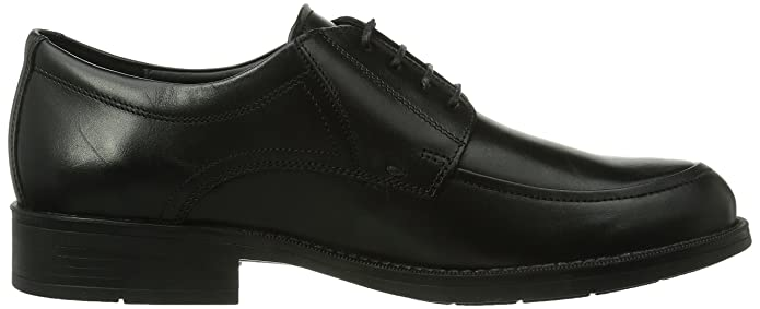 DAMON PALACE 4300 BLACK - Zapatos de cordones para hombre, color Black, talla 45.5 Mephisto
