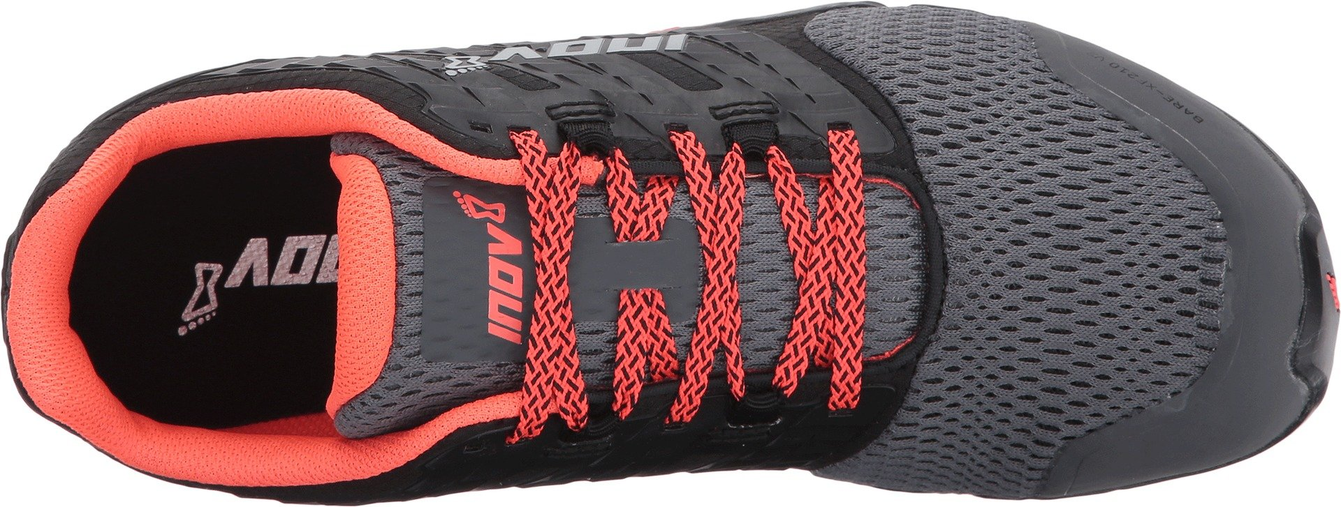 Inov-8 Women's Bare-XF 210 v2 (W) Cross Trainer, Grey/Black/Coral, 6 B US by Inov-8 (Image #2)