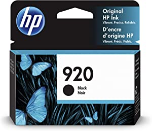 HP 920 | Ink Cartridge | Black | CD971AN, Standard