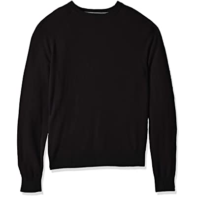 Brand - Buttoned Down Men's Standard 100% Cashmere Crewneck Sweater: Clothing