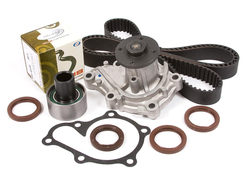 Amazon.com: Evergreen TBK249WPT4 99-02 Mercury Villager Nissan Quest 3.3L  VG33E Timing Belt Kit Water Pump: Automotive