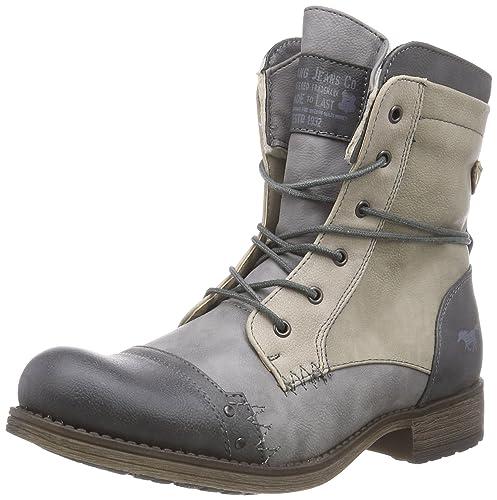 Mustang 1139-623, Botines Mujer, Gris (202 dunkelgrau/grau), 41 EU: Amazon.es: Zapatos y complementos