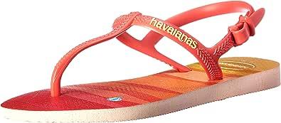 Havaianas Freedom Print Kinder Sandalen Zehentrenner 4137197.0076 Rose Rot Neu