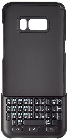 Samsung EJ-CG955 QWERTZ Negro Teclado para móvil - Fundas para teléfonos móviles, Galaxy