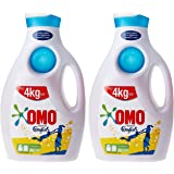 OMO Liquid Laundry Detergent with Touch of Comfort. 2 Litre (Pack of 2)