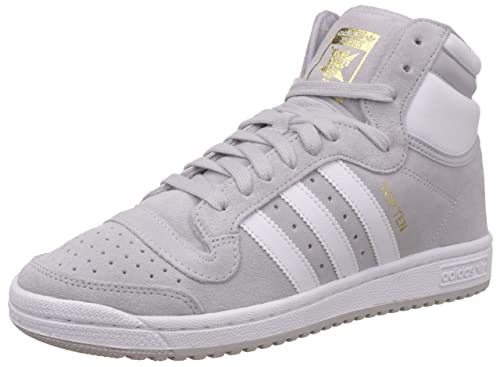 big sale 0a256 baa6e Adidas, Uomo, Top Ten Hi Grigie, Suede   Pelle, Sneakers Alte, Grigio   Amazon.it  Scarpe e borse