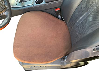 Miraculous Auto Console Covers Seat Cover Bottom Only 2 Covers Brown Fleece Universal Bucket Seat Protectors For Suvs Trucks Vans And Cars Machost Co Dining Chair Design Ideas Machostcouk