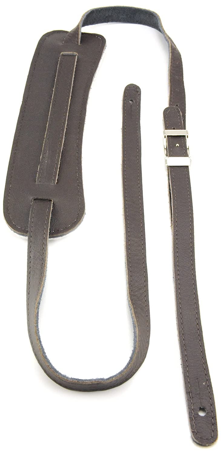 Perri's Leathers CBSL-F Vintage Guitar Strap with Deluxe Garmet Leather Perri's Leathers