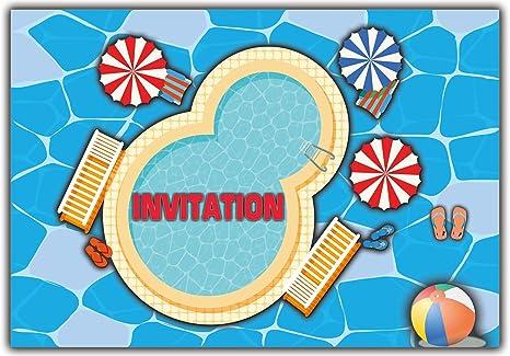 Carte D Anniversaire Invitation En Francais Lot 10 Cartes Fille
