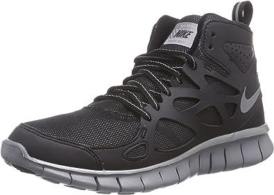 Nike Nike Free Run - Zapatillas de Running de Material sintético para niño Negro, Color Negro, Talla 40: Amazon.es: Zapatos y complementos