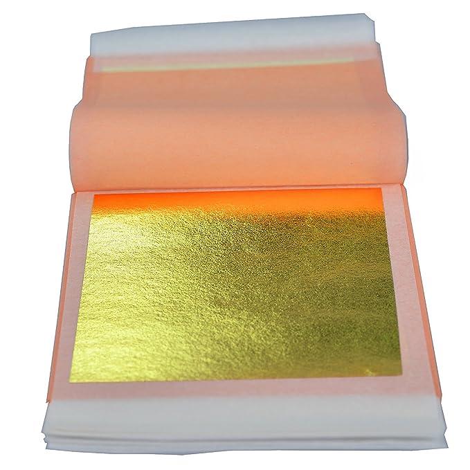 Amazon.com: Barnabas Blattgold – auténtica dorado hojas ...