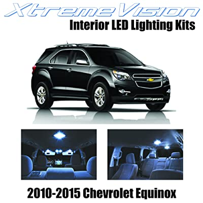 XtremeVision LED for Chevy Equinox 2010-2015 (11 Pieces) Cool White Premium Interior LED Kit Package + Installation Tool: Automotive