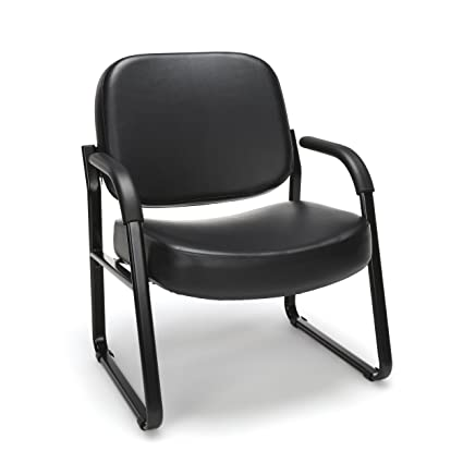 Amazon OFM Big And Tall Reception Chair With Arms