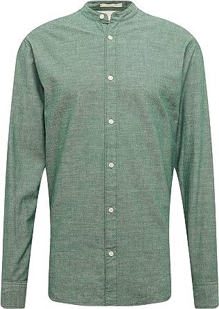 SELECTED HOMME Slhslimnolan-China Shirt LS W Camisa de Oficina para Hombre
