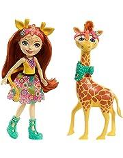 Enchantimals 887961553512 Gillian Giraffe Dolls