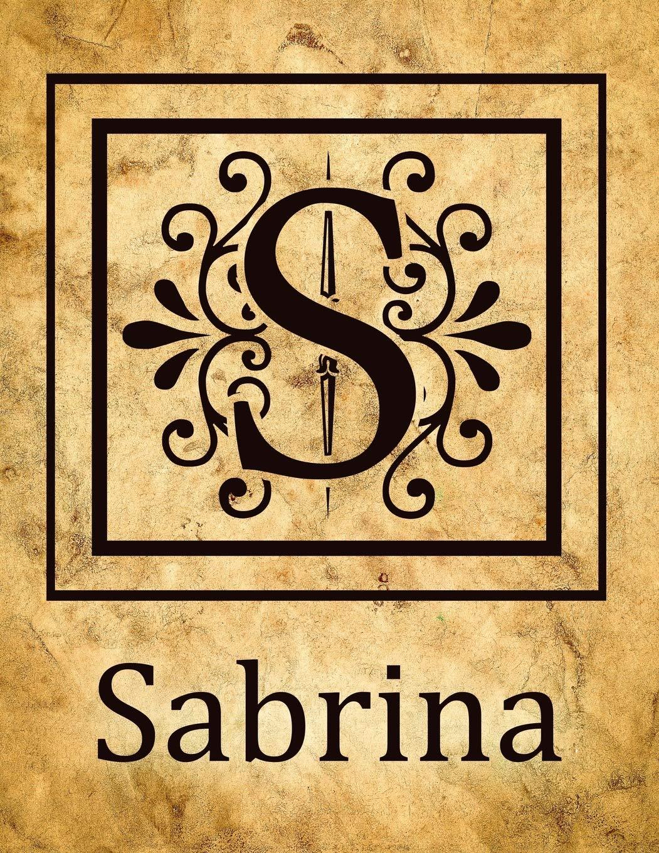 Sabrina Vintage Style Personalised Notebook/Diary/Journal