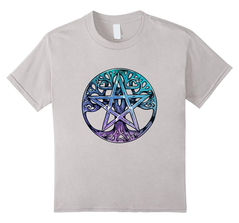 Mens Tree Life Pentagram Shirt-Tovacu