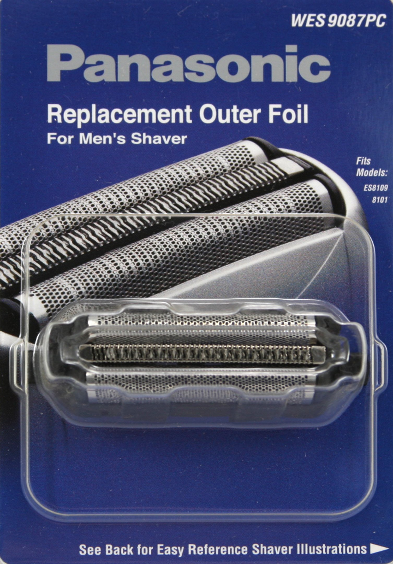 Panasonic WES9087PC Men's Electric Razor Replacement Outer Foil