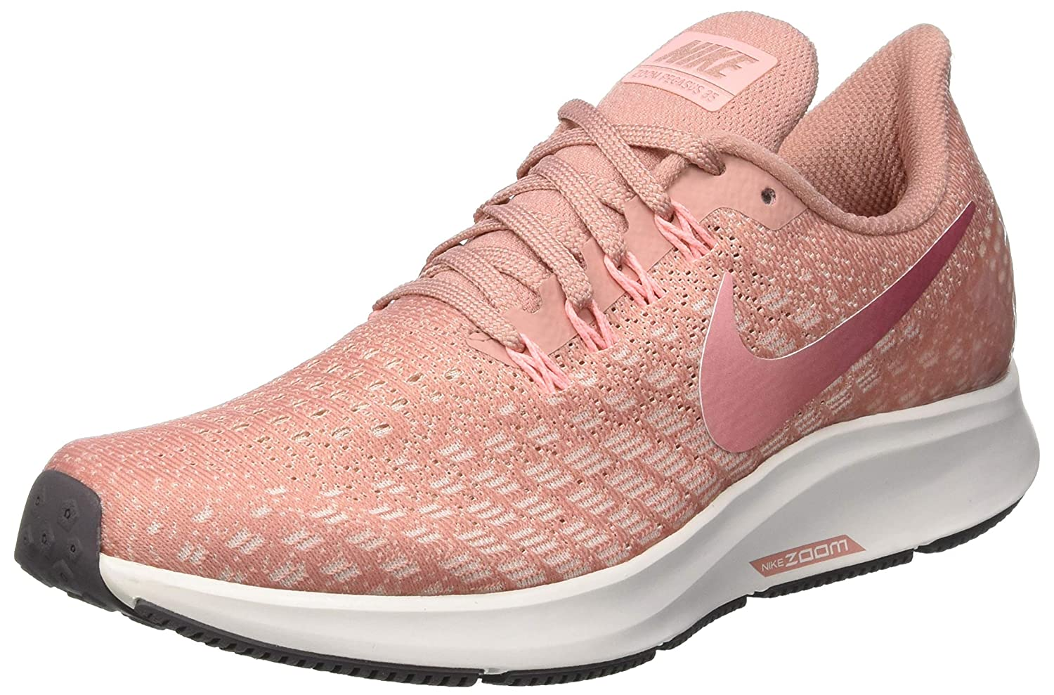 buy online 047e7 433d8 Nike Women s Air Zoom Pegasus 35 Running Shoes Rust Pink Guava Ice Pink Tint  Tropical Pink, 9.5 UK